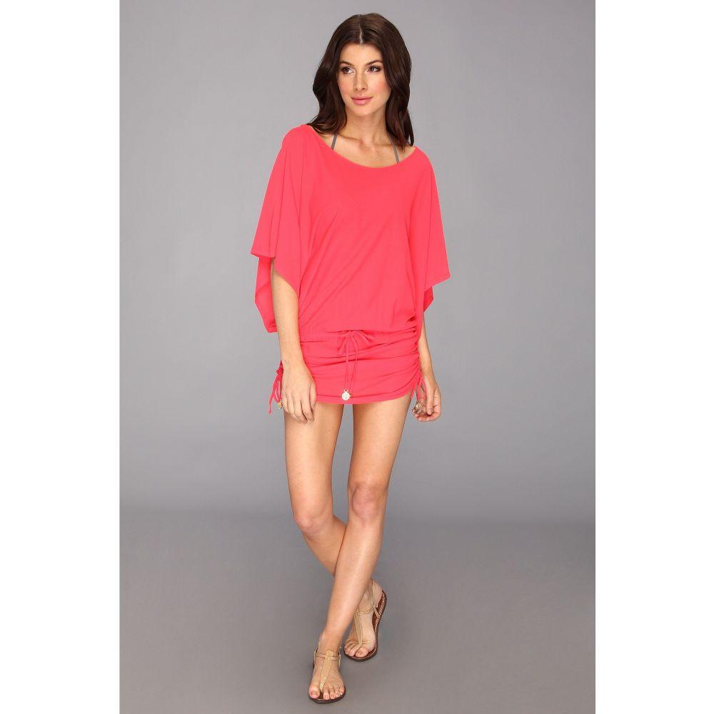ルリファマ Luli Fama レディース 水着・ビーチウェア ビーチウェア【Cosita Buena South Beach Dress Cover-Up】Bombshell Red