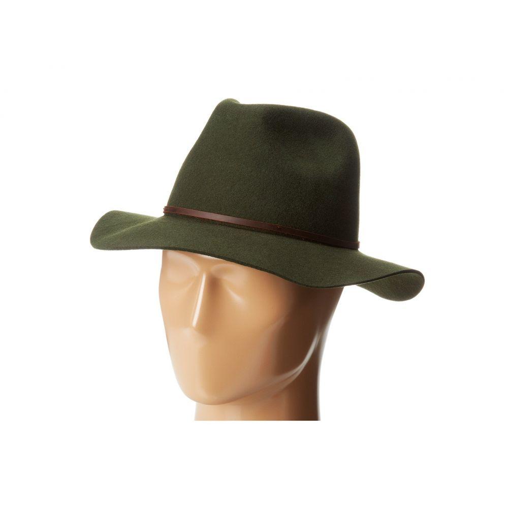 ブリクストン Brixton レディース 帽子 ハット【Wesley Fedora】Moss