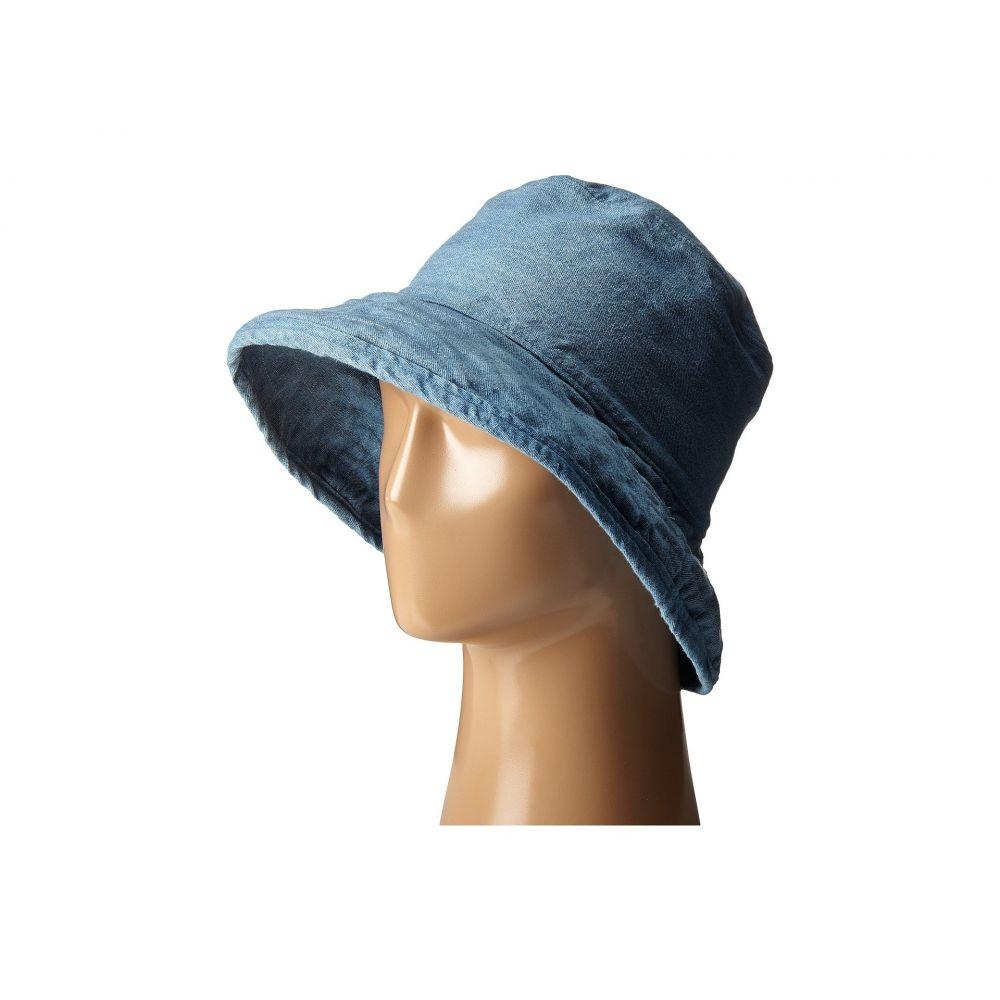 ハットアタック Hat Attack レディース 帽子 ハット【Washed Cotton Crusher】Chambray
