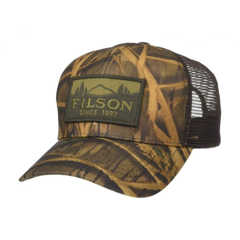 フィルソン Filson レディース 帽子 キャップ【Logger Mesh Cap】Shadow Grass