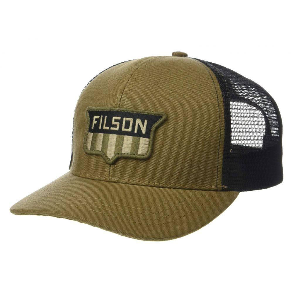 フィルソン Filson レディース 帽子 キャップ【Logger Mesh Cap】Dark Tan