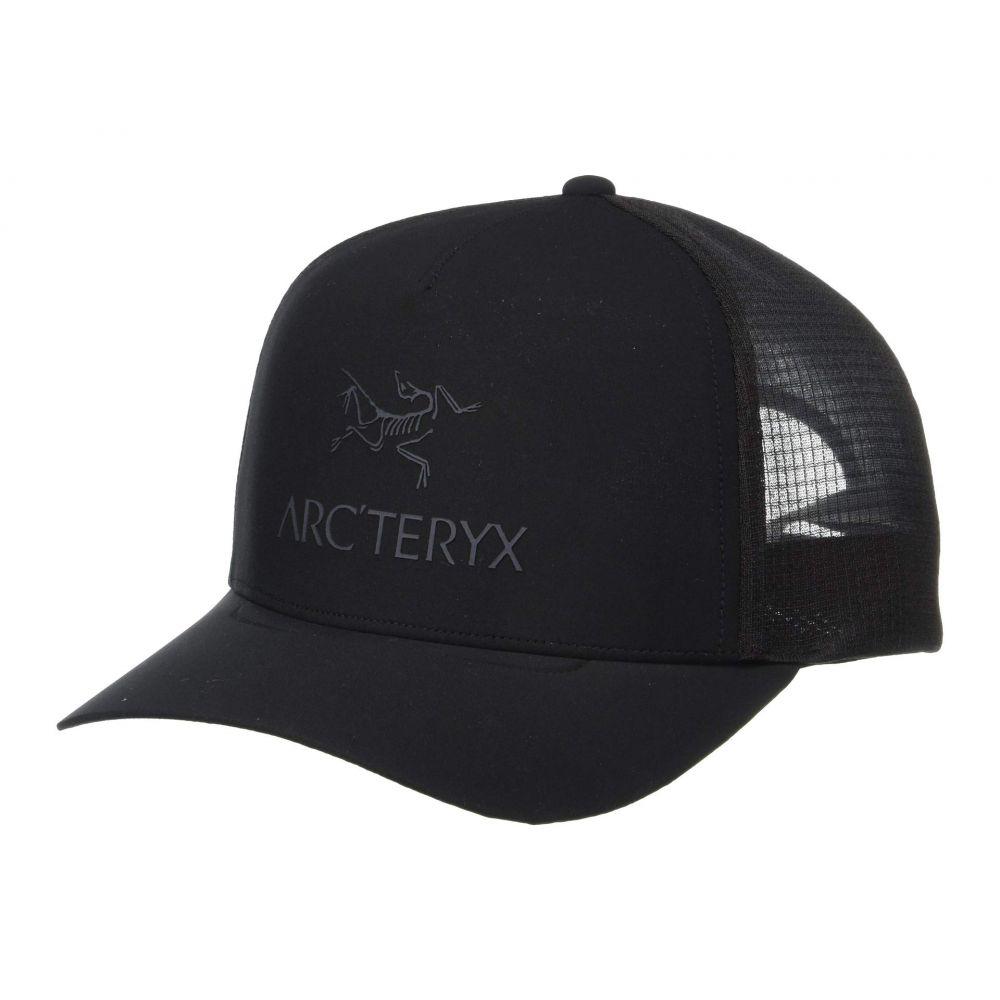 アークテリクス Arc'teryx レディース 帽子 キャップ【Logo Trucker Hat】Black