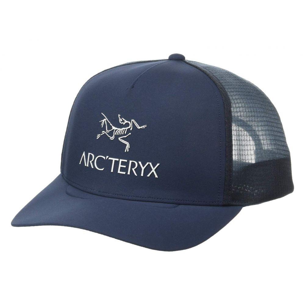 アークテリクス Arc'teryx レディース 帽子 キャップ【Logo Trucker Hat】Dark Navy