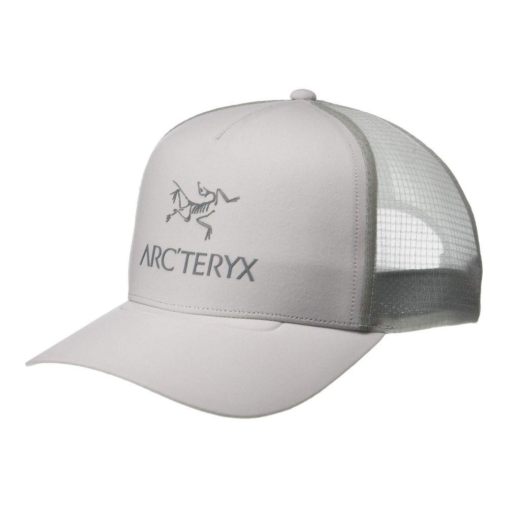 アークテリクス Arc'teryx レディース 帽子 キャップ【Logo Trucker Hat】Delos Grey