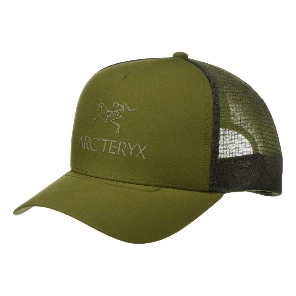 アークテリクス Arc'teryx レディース 帽子 キャップ【Logo Trucker Hat】Bushwhack