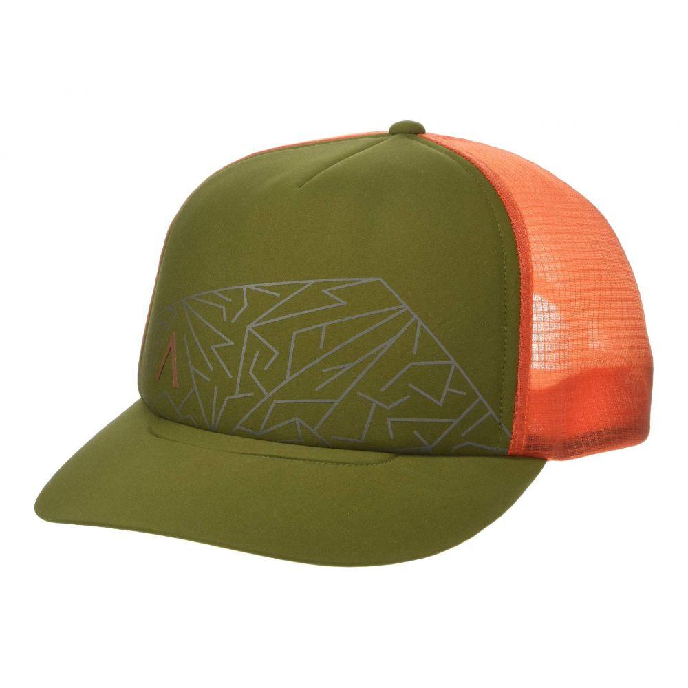 アークテリクス Arc'teryx レディース 帽子 キャップ【Mountain Trucker Hat】Bushwhack/Trail Blaze