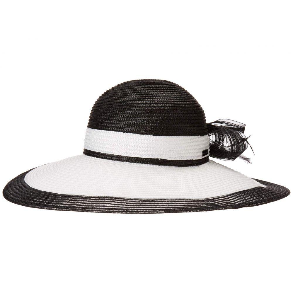 ベットマー Betmar レディース 帽子 ハット【Barrymore】Black/White
