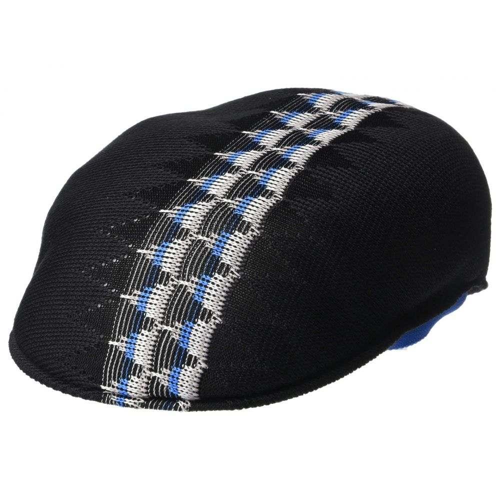 カンゴール Kangol レディース 帽子【Argyle Stripe 504】Black