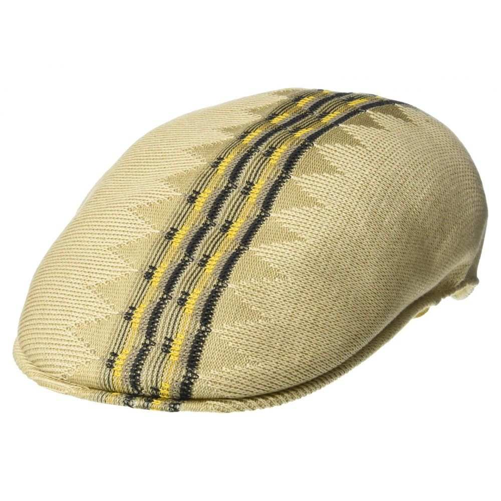 カンゴール Kangol レディース 帽子【Argyle Stripe 504】Beige