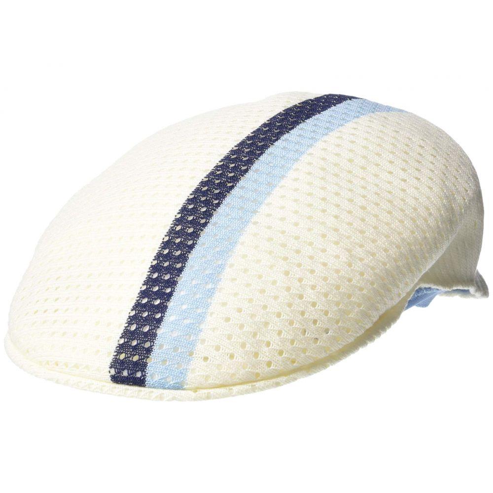 カンゴール Kangol レディース 帽子【Mesh Stripe 504】White