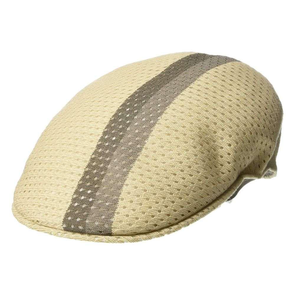 カンゴール Kangol レディース 帽子【Mesh Stripe 504】Beige