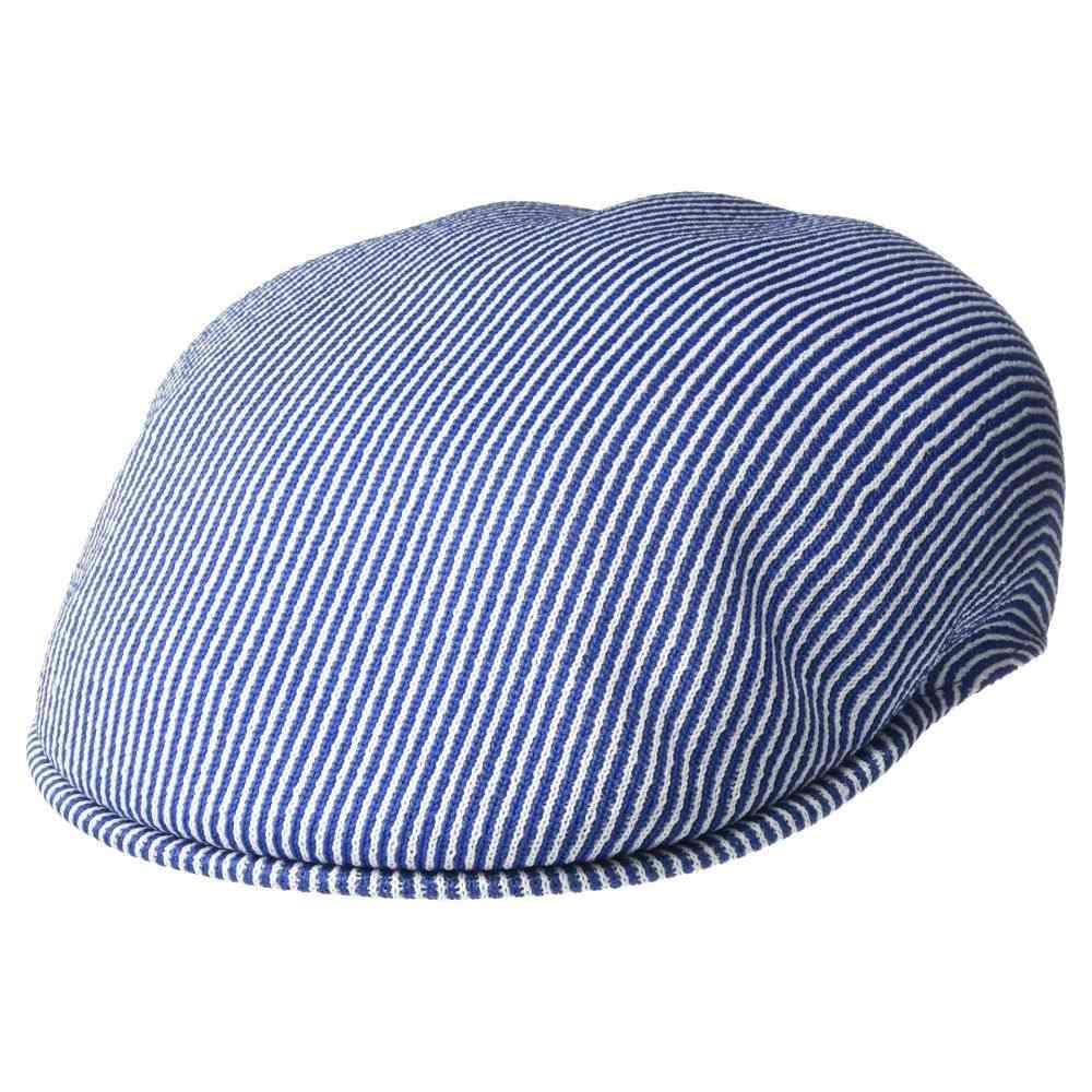 カンゴール Kangol レディース 帽子【Stripe 504】White/Royale
