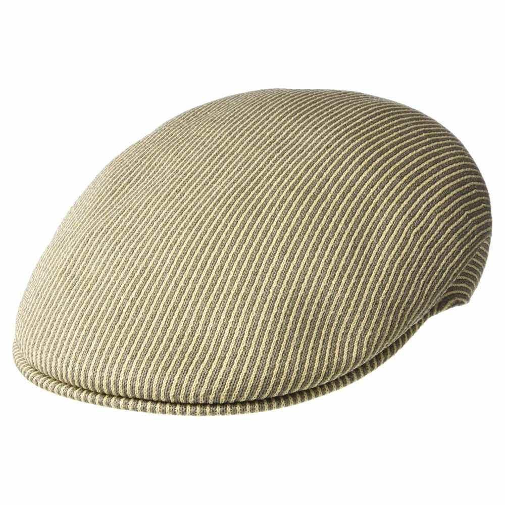 カンゴール Kangol レディース 帽子【Stripe 504】Beige/Smog