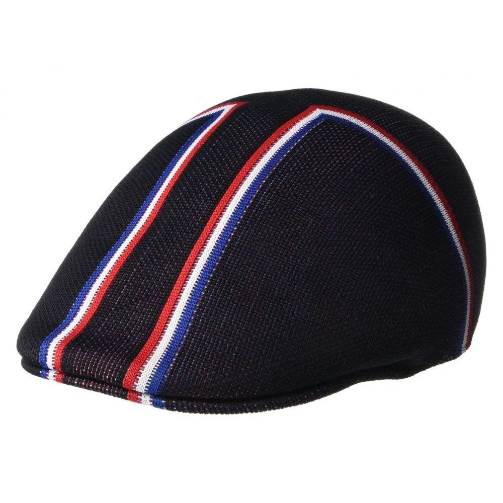 カンゴール Kangol レディース 帽子【Angle Stripe 507】Black
