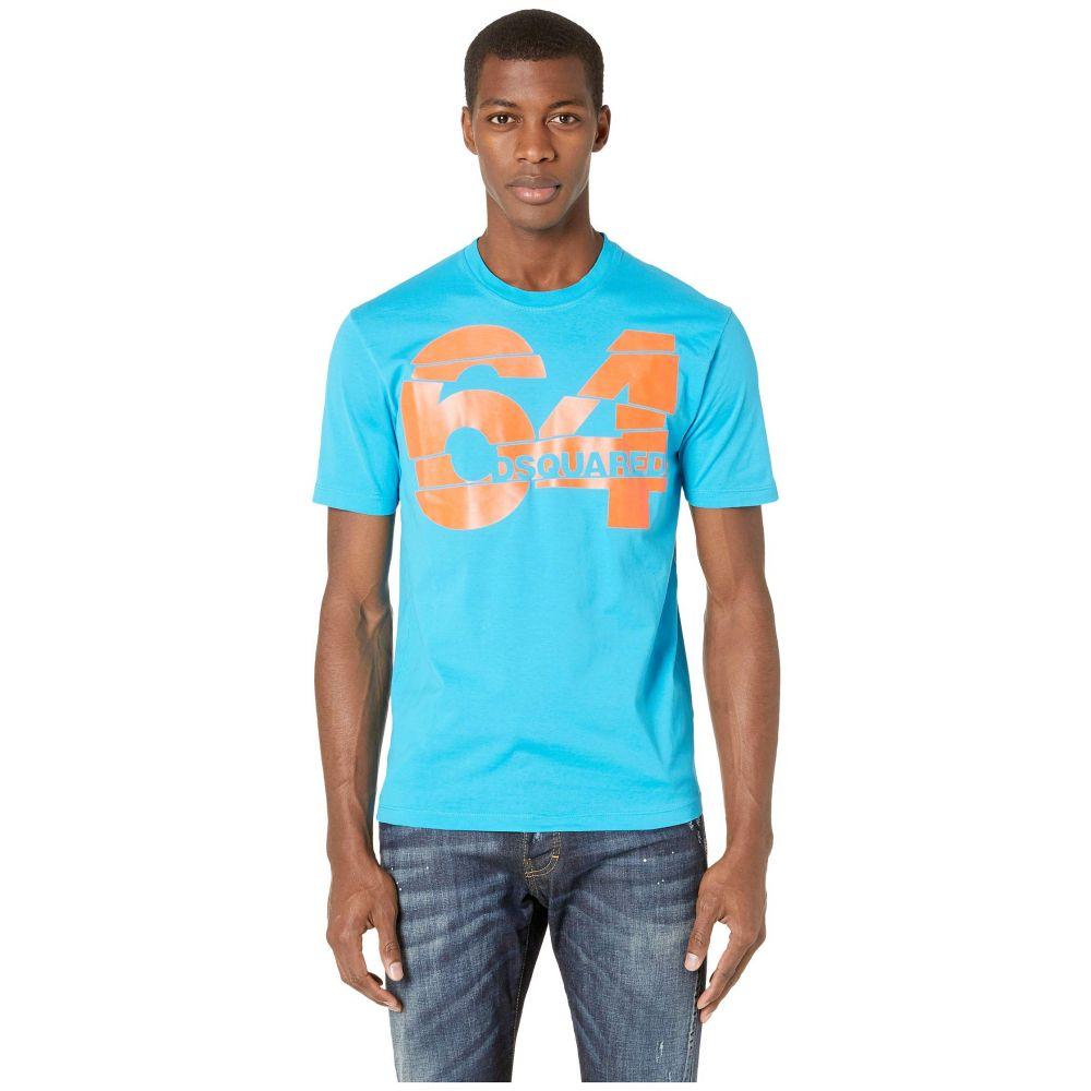 ディースクエアード DSQUARED2 メンズ トップス Tシャツ【64 Stud Fit T-Shirt】Bluette