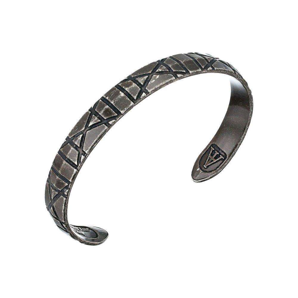 アレックス アンド アニ Alex and Ani メンズ ジュエリー・アクセサリー ブレスレット【Earth Element Cuff Bracelet】Rafaelian Silver