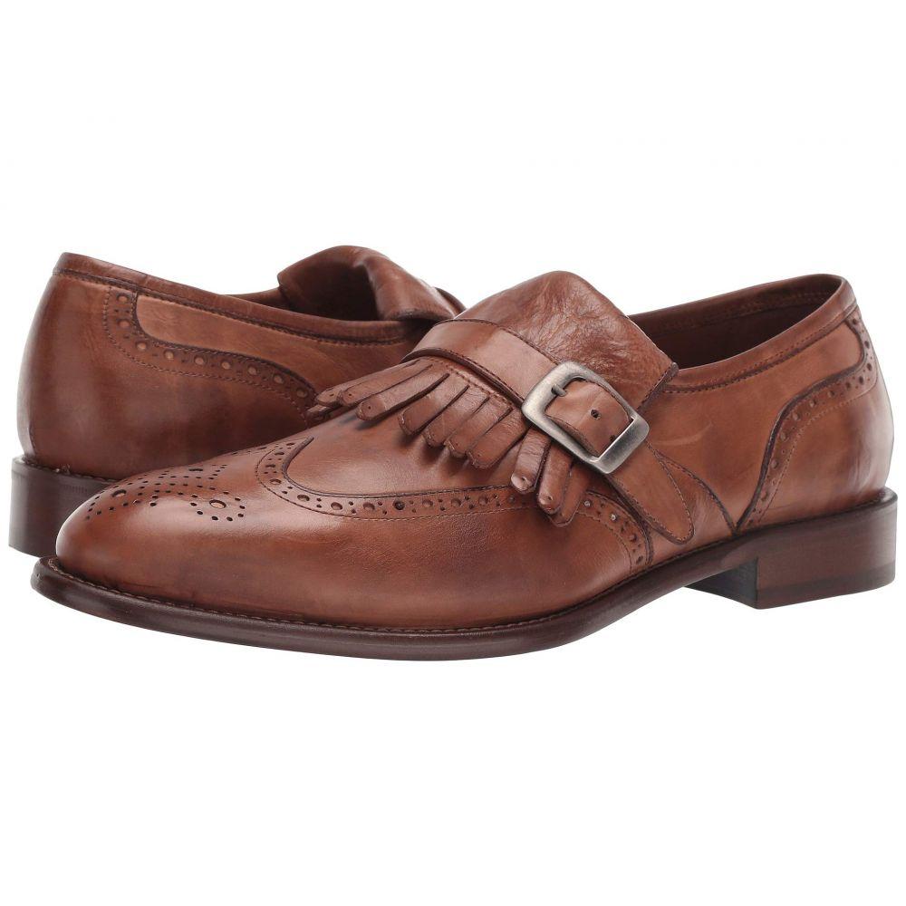 ジェイ&エム J&M EST. 1850 メンズ シューズ・靴 ローファー【Bryson Kiltie】Cognac