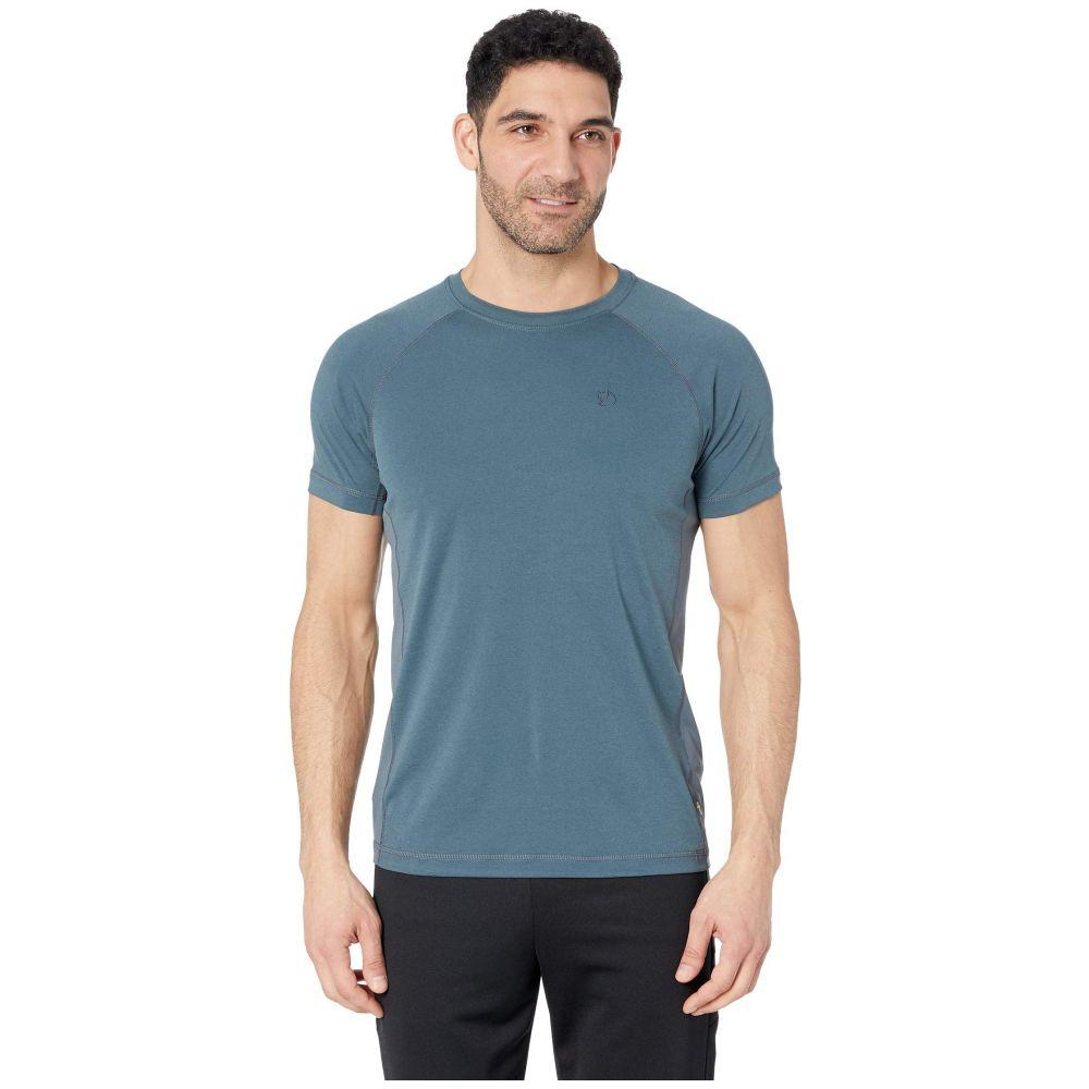 フェールラーベン Fjallraven メンズ トップス Tシャツ【Abisko Vent T-Shirt】Dusk
