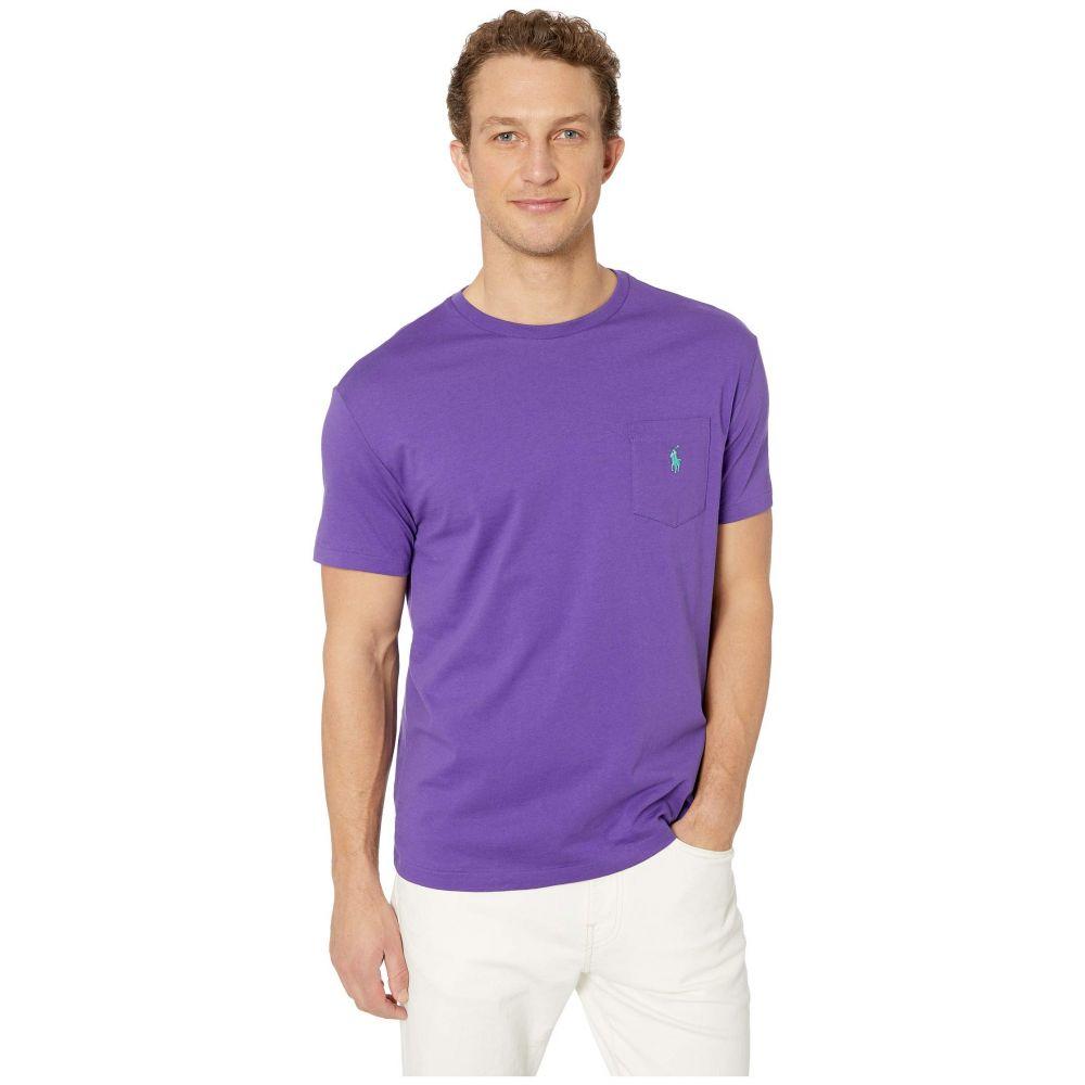 ラルフ ローレン Polo Ralph Lauren メンズ トップス Tシャツ【26/1 Jersey Short Sleeve Classic Fit Pocket T-Shirt】Cabana Purple