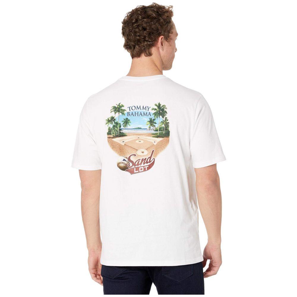 トミー バハマ Tommy Bahama メンズ トップス Tシャツ【Sand Lot Tee】White