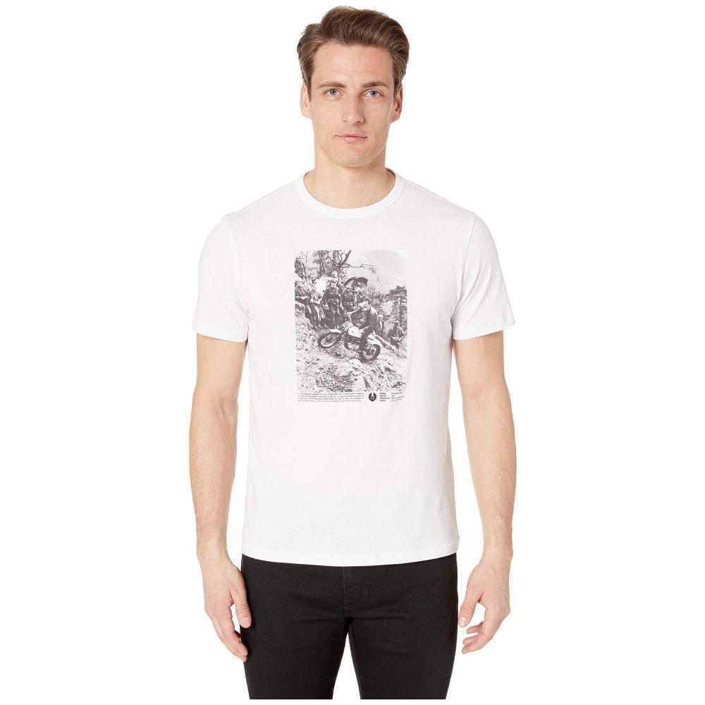 ベルスタッフ BELSTAFF メンズ トップス Tシャツ【Photo Graphic T-Shirt】White