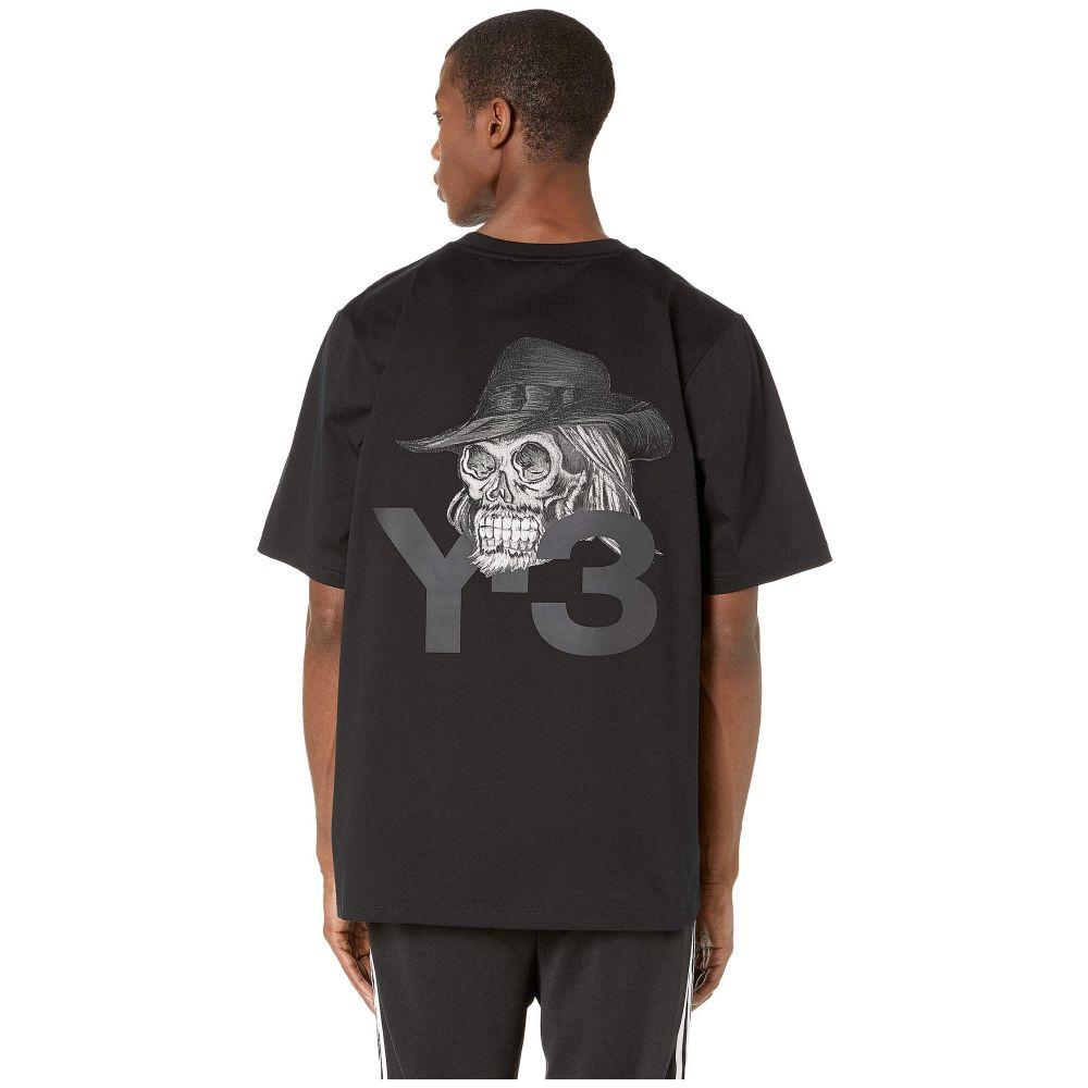 ワイスリー adidas Y-3 by Yohji Yamamoto メンズ トップス Tシャツ【Yohji Skull Short Sleeve Tee】Black
