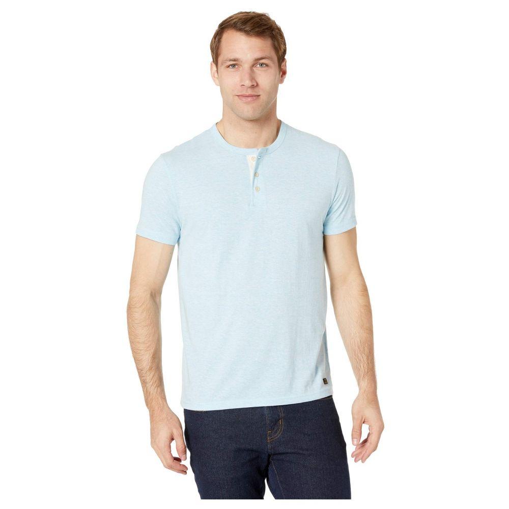 ラッキーブランド Lucky Brand メンズ トップス Tシャツ【Henley Tri-Blend Tee】Light Blue