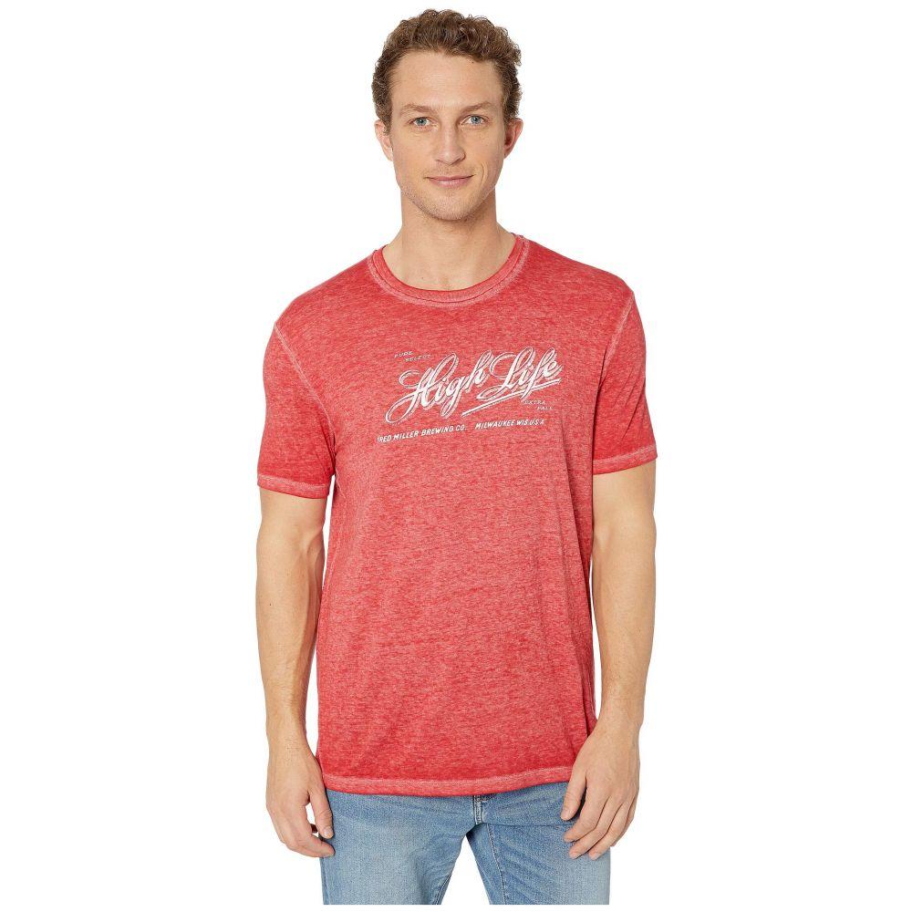 ラッキーブランド Lucky Brand メンズ トップス Tシャツ【Miller High Life Tee】Pompeian Red