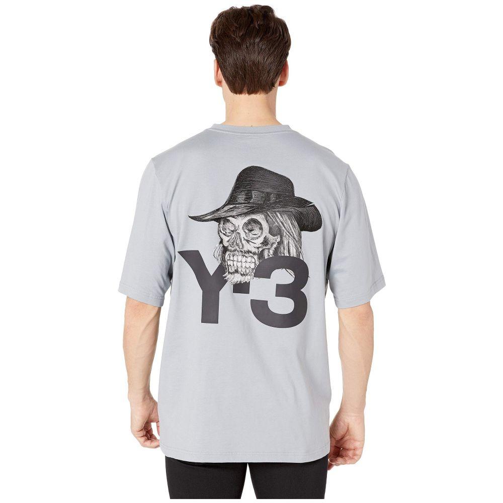 ワイスリー adidas Y-3 by Yohji Yamamoto メンズ トップス Tシャツ【Yohji Skull Short Sleeve Tee】Kumo Grey