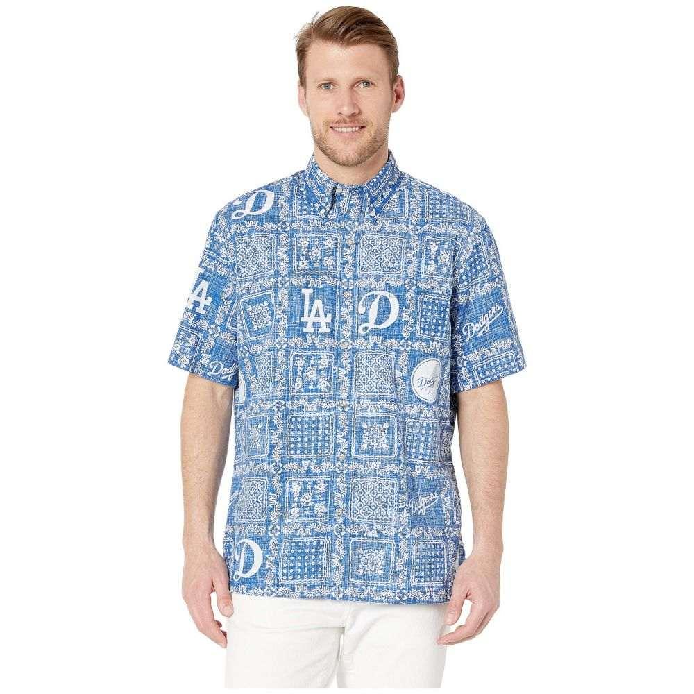レインスプーナー Reyn Spooner メンズ トップス シャツ【LA Dodgers Lahaina Hawaiian Shirt】Blue