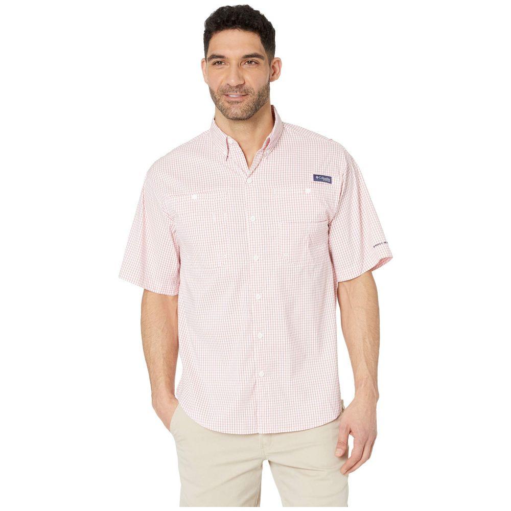 コロンビア Columbia メンズ トップス 半袖シャツ【Super Tamiami(TM) Short Sleeve Shirt】Sunset Red Mini Plaid