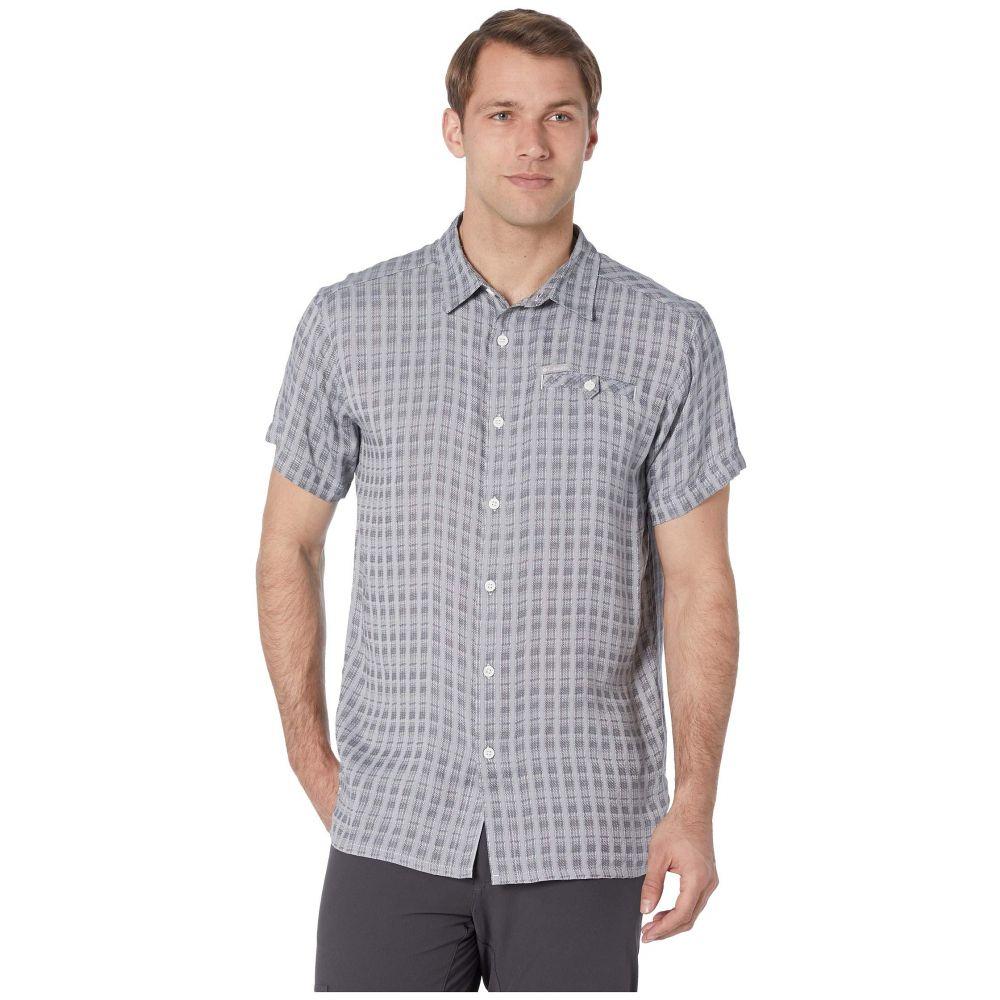 コロンビア Columbia メンズ トップス 半袖シャツ【Declination Trail(TM) II S/S Shirt】White Stripe