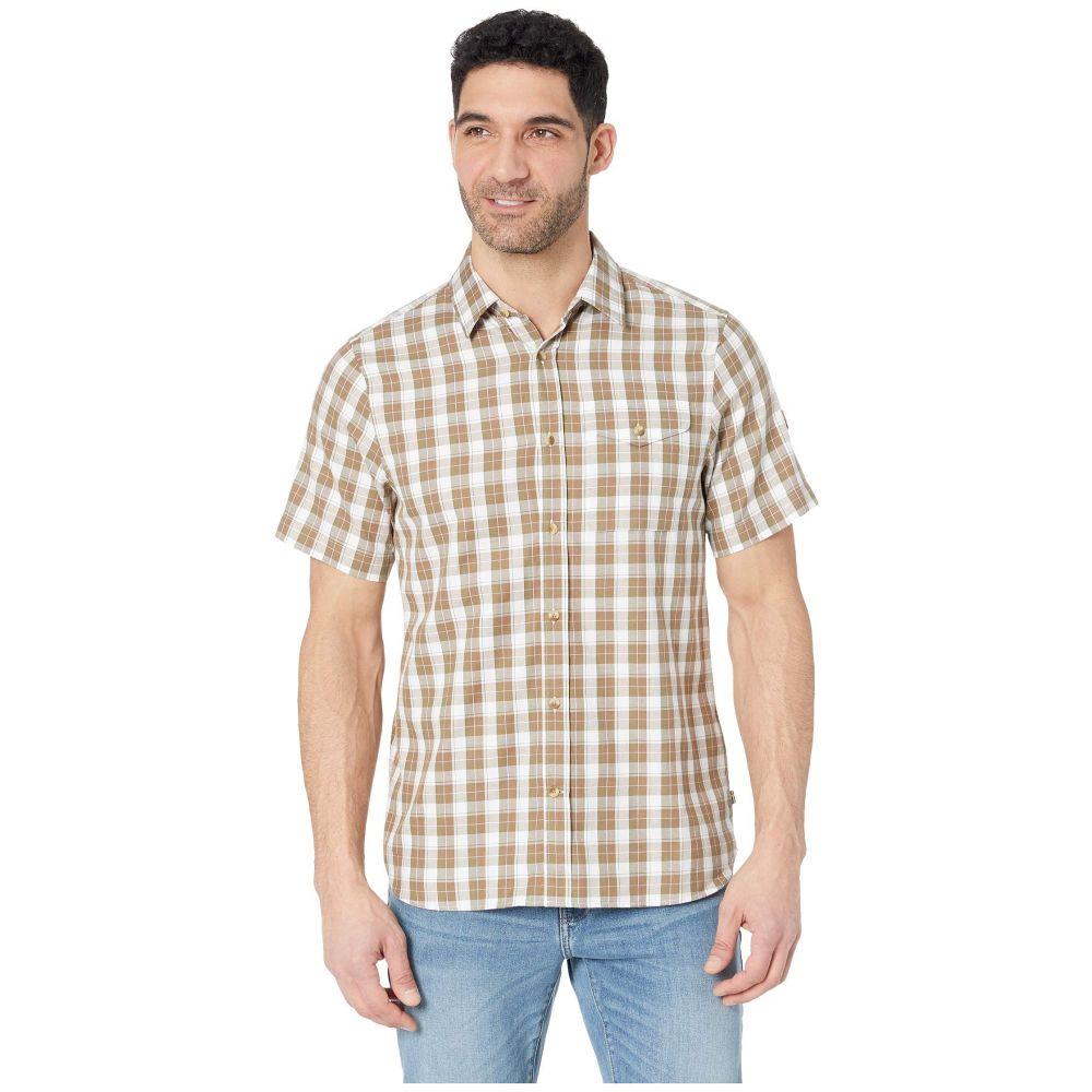 フェールラーベン Fjallraven メンズ トップス 半袖シャツ【Sarek Short Sleeve Shirt】Savanna