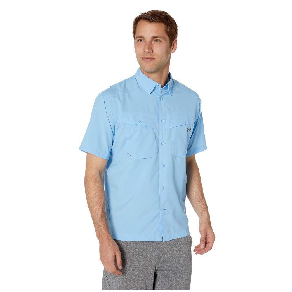 アンダーアーマー Under Armour メンズ トップス 半袖シャツ【UA Tide Chaser Short Sleeve Shirt】Carolina Blue/Steel