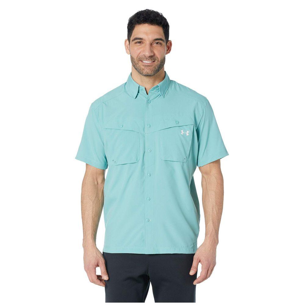 アンダーアーマー Under Armour メンズ トップス 半袖シャツ【UA Tide Chaser Short Sleeve Shirt】Azure Teal/Elemental