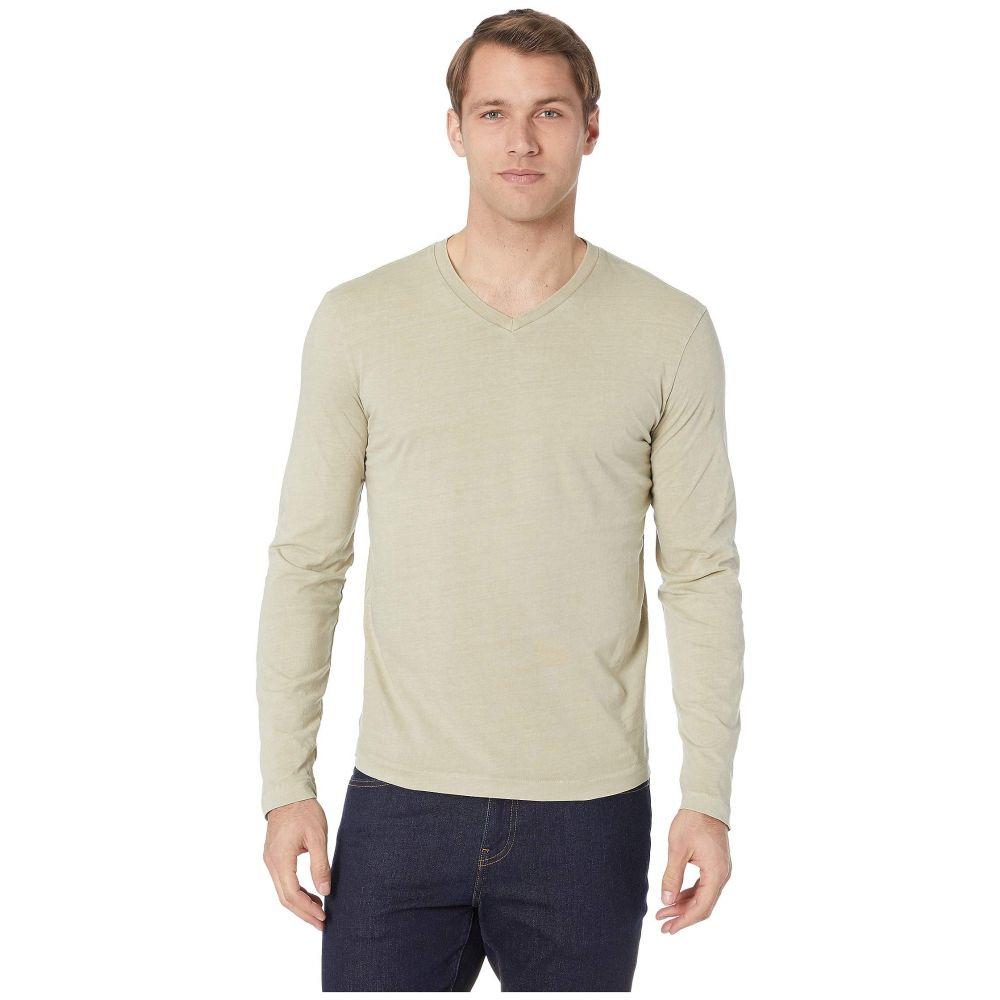 モドオードック Mod-o-doc メンズ トップス 長袖Tシャツ【Cardiff Long Sleeve Jersey V-Neck Tee】Tumbleweed