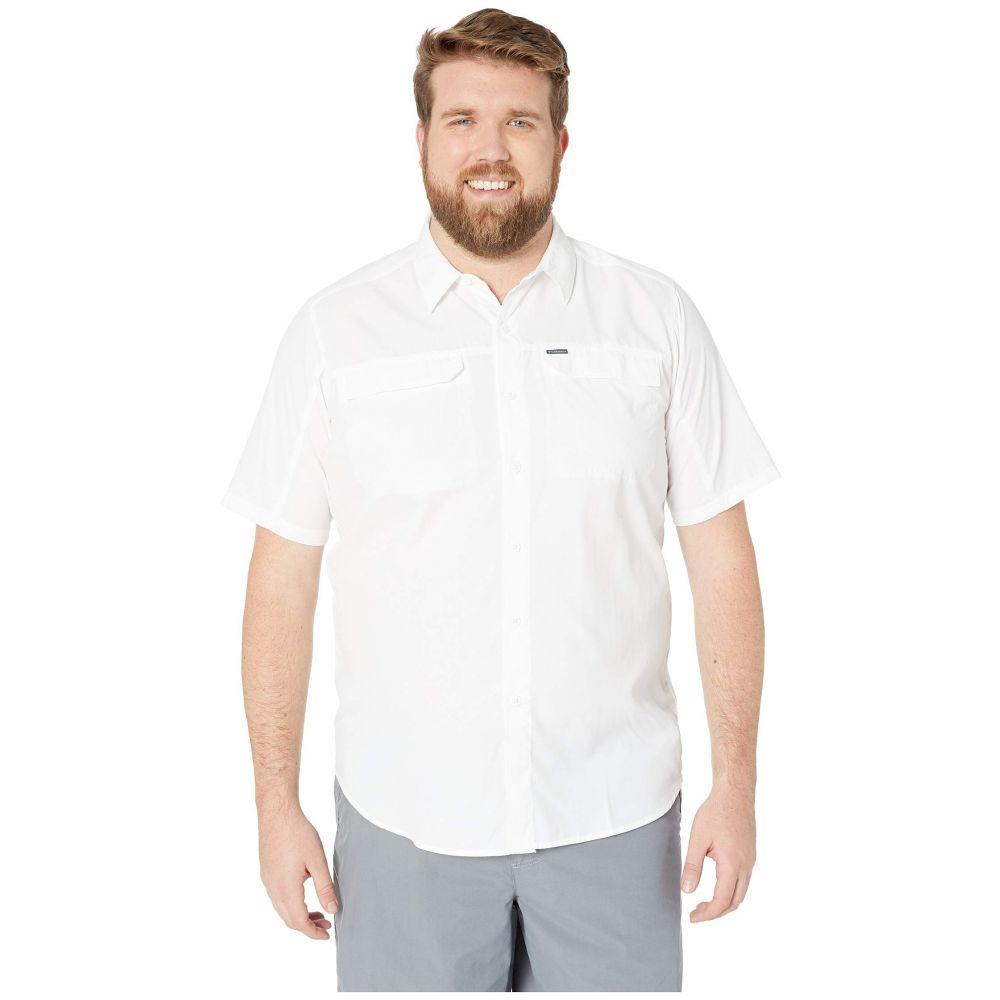 コロンビア Columbia メンズ トップス 半袖シャツ【Big and Tall Silver Ridge 2.0 Short Sleeve Shirt】White