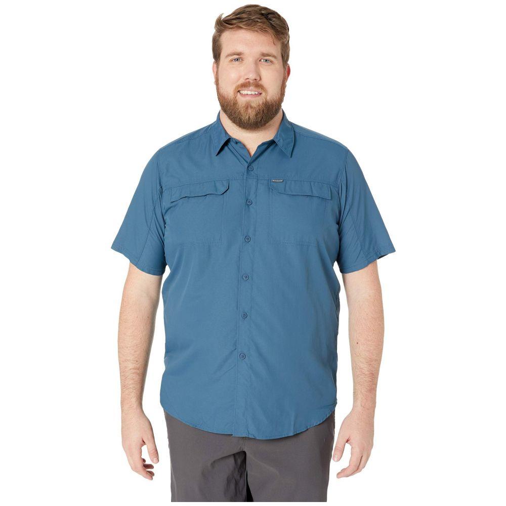 コロンビア Columbia メンズ トップス 半袖シャツ【Big and Tall Silver Ridge 2.0 Short Sleeve Shirt】Petrol Blue