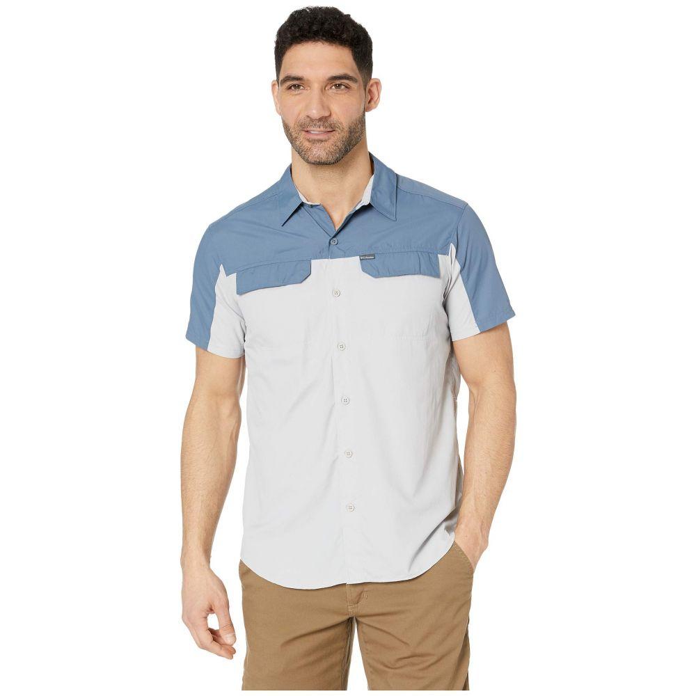 コロンビア Columbia メンズ トップス 半袖シャツ【Silver Ridge 2.0 Blocked Short Sleeve Shirt】Mountain/Cool Grey
