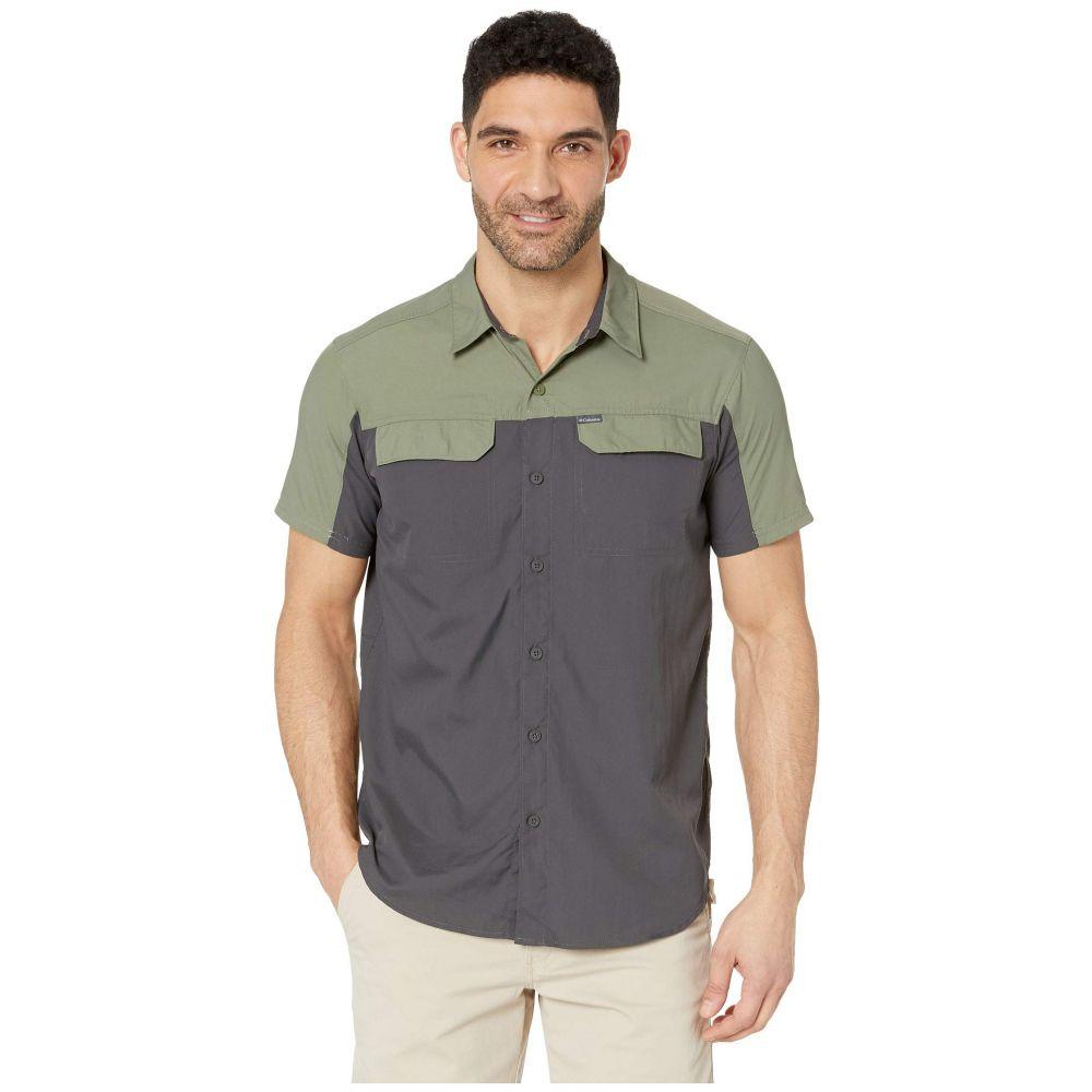 コロンビア Columbia メンズ トップス 半袖シャツ【Silver Ridge 2.0 Blocked Short Sleeve Shirt】Cypress/Shark