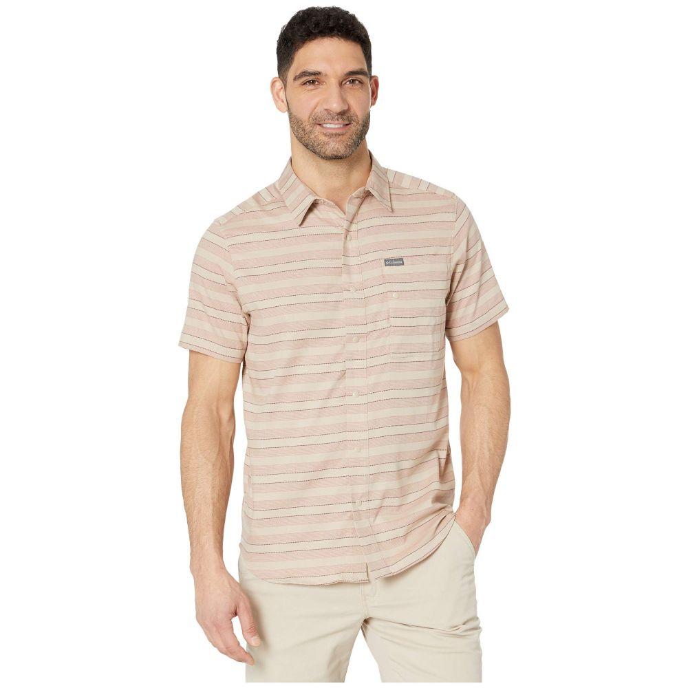 コロンビア Columbia メンズ トップス 半袖シャツ【Shoals Point(TM) Short Sleeve Shirt】Ancient Fossil Woven