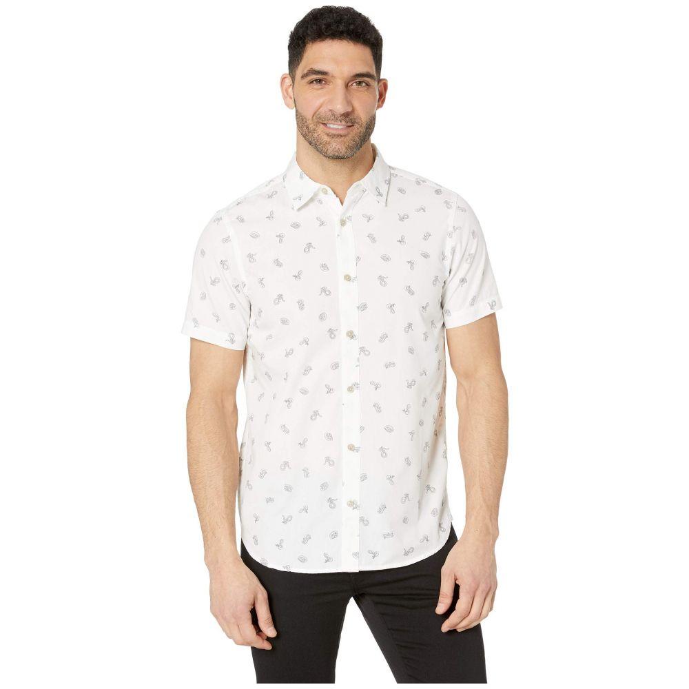 ザ ノースフェイス The North Face メンズ トップス 半袖シャツ【Short Sleeve Baytrail Shirt】TNF White Snakes on a Plain Print