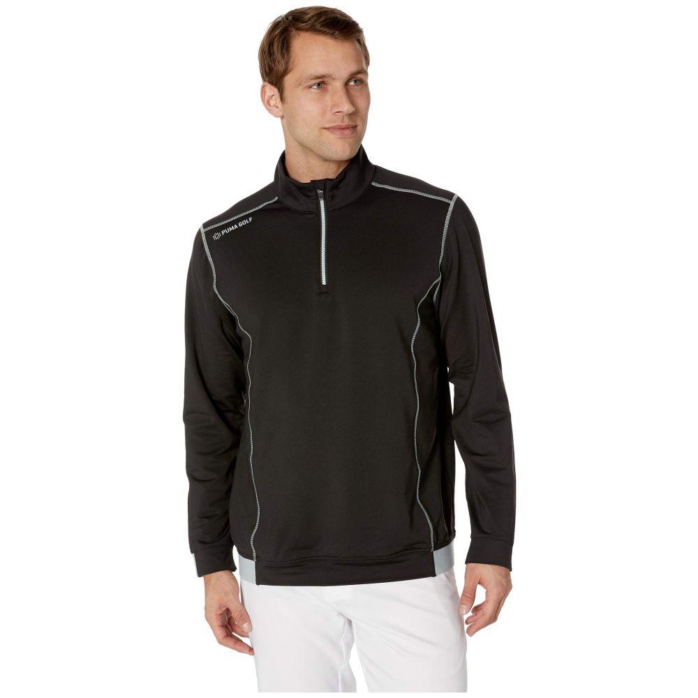 プーマ PUMA Golf メンズ トップス【PWRWARM 1/4 Zip】PUMA Black