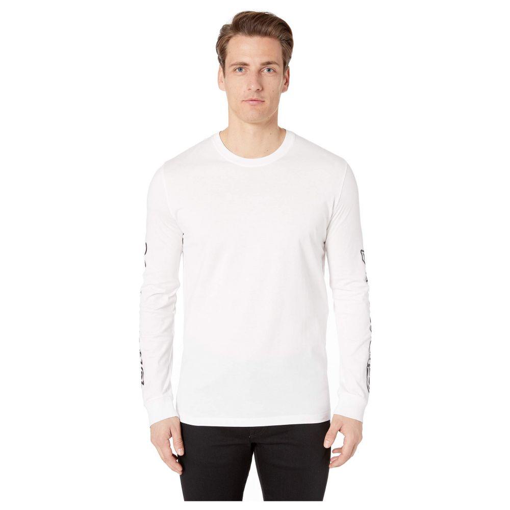 ヴェルサーチ Versus Versace メンズ トップス 長袖Tシャツ【Script Logo Long Sleeve T-Shirt】Black