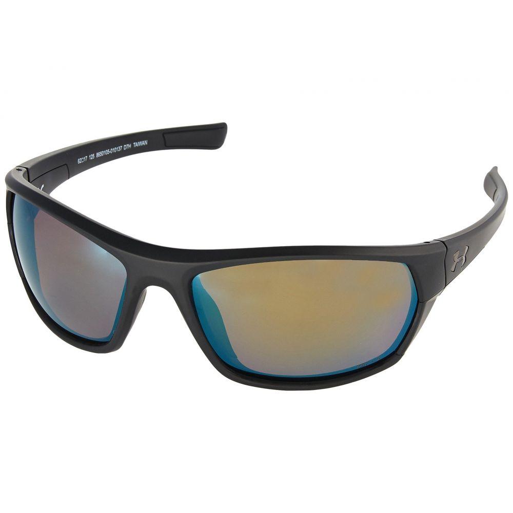 45c6abe147b3 アンダーアーマー メンズ ファッション小物 メガネ・サングラス Satin Black/Black/Shoreline Polarized アンダー