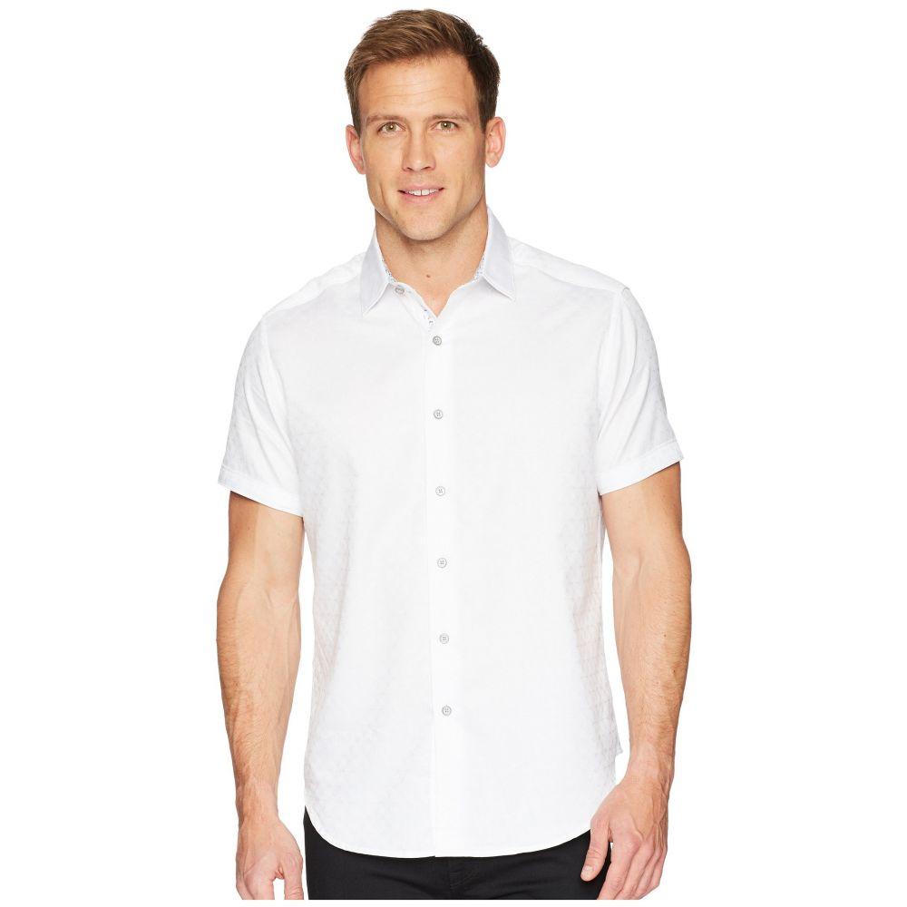 ロバートグラハム Robert Graham メンズ トップス 半袖シャツ【Diamante Short Sleeve Sports Shirt】White