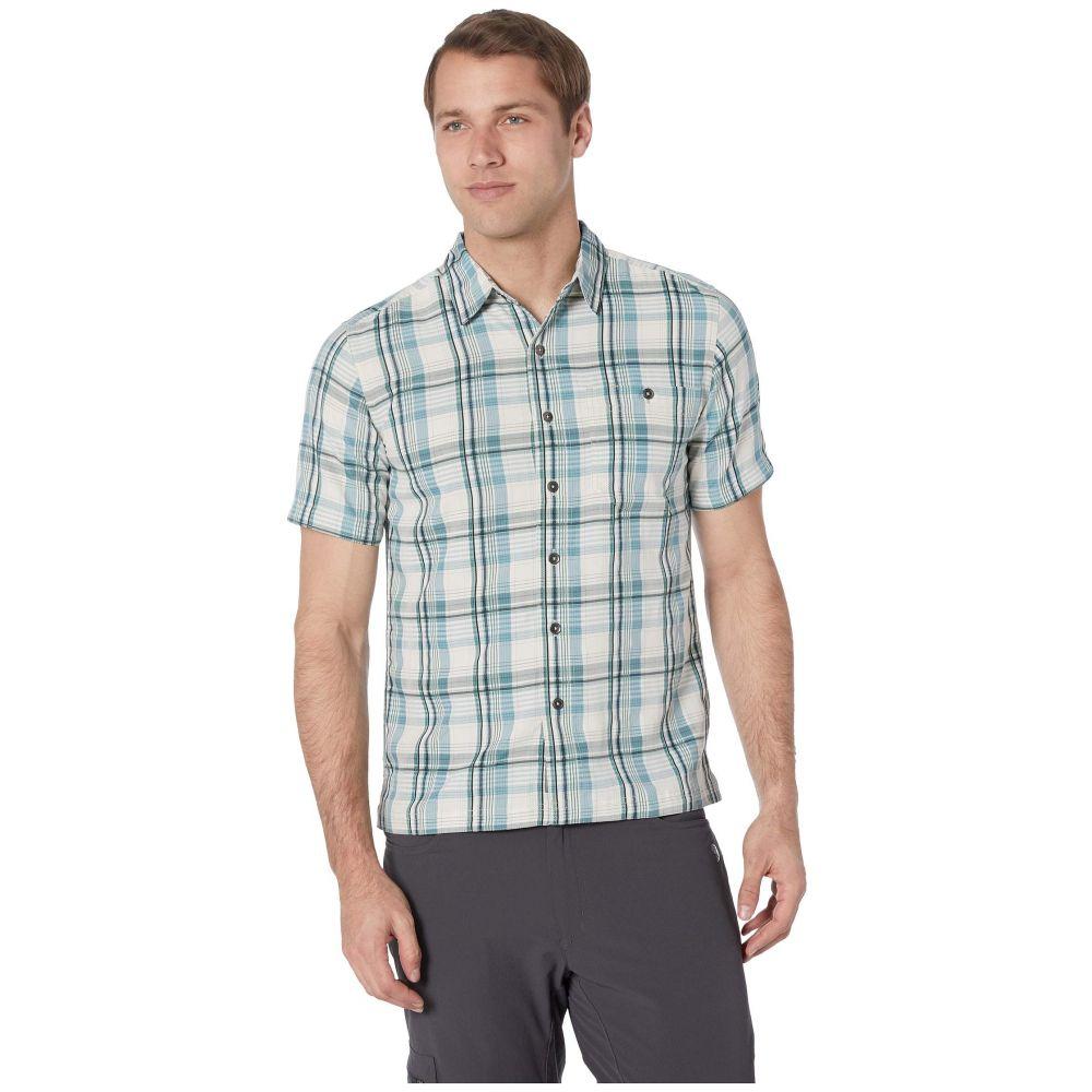 ロイヤルロビンズ Royal Robbins メンズ トップス 半袖シャツ【Mojave Dobby Plaid Short Sleeve Shirt】Creme