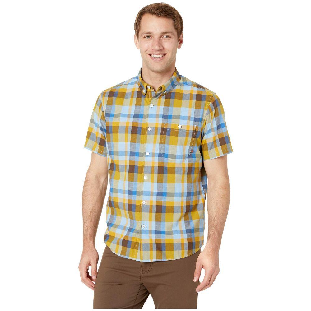 マウンテンハードウェア Mountain Hardwear メンズ トップス 半袖シャツ【Big Cottonwood(TM) Short Sleeve Shirt】Dark Citron