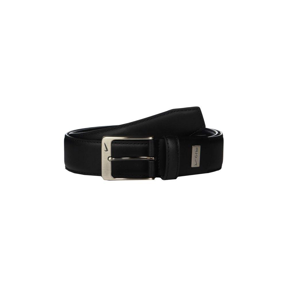 ナイキ Nike メンズ ベルト【Leather Woven G-Flex】Black