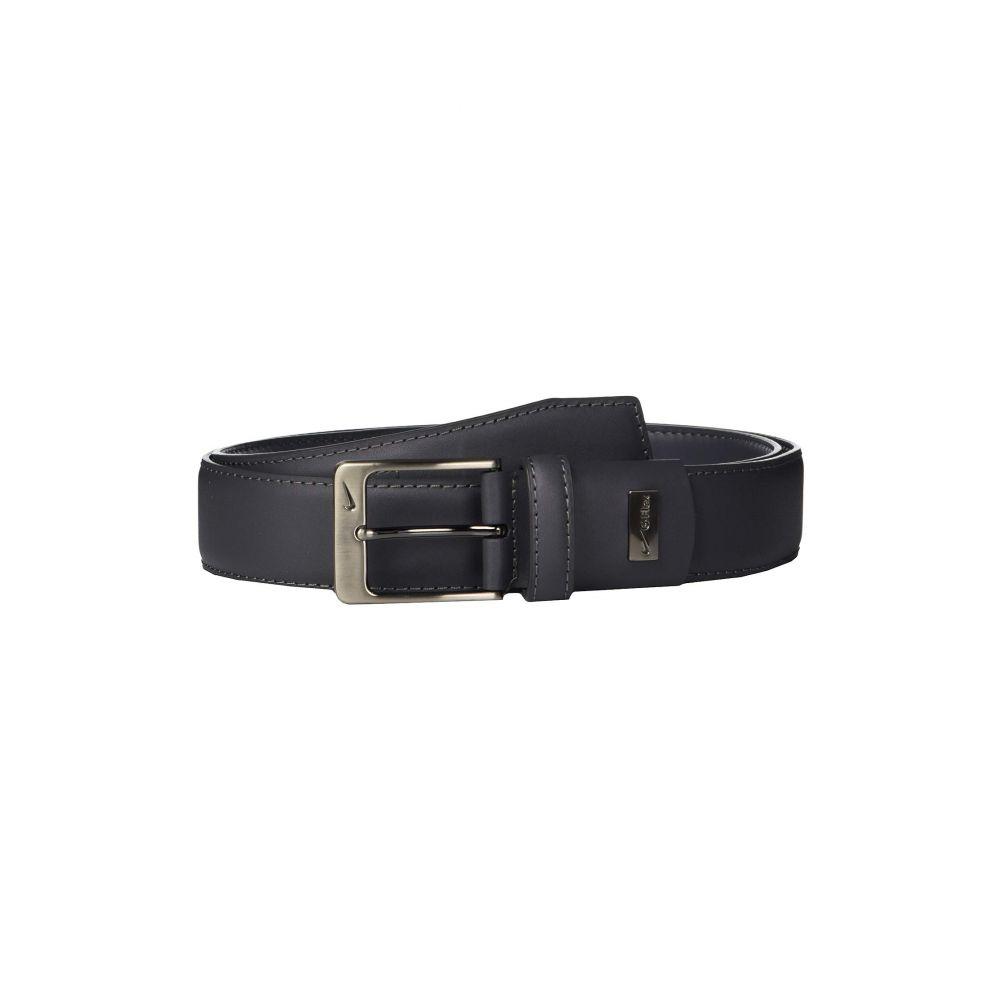 ナイキ Nike メンズ ベルト【Leather Woven G-Flex】Dark Grey